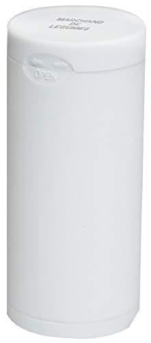 Dreams(ドリームズ) 携帯灰皿 ポケットアッシュトレイ ラバー ハニカム 6本収納 ホワイト MDL45092