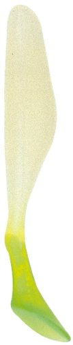 Bass Assassin Saltwater Sea Shad-10 Per Bag (Glow/Chartreuse Tail, 4-Inch)