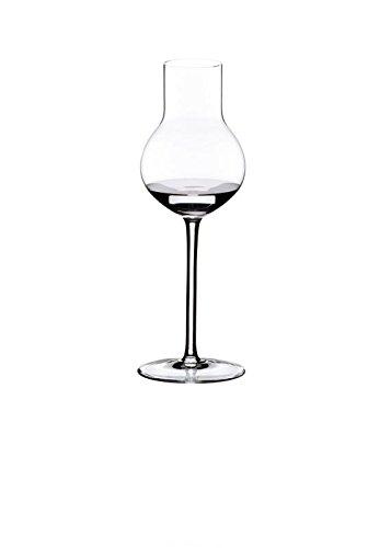 Riedel Sommeliers Steinobst Grappaglas Höhe 200 mm, Volumen 180 ccm - Mundgeblasenes Bleikristall
