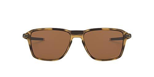 Price comparison product image Oakley OO9469 Wheel House Square Sunglasses ,  Polished Brown Tortoise / Prizm Tungsten Polarized,  54 mm