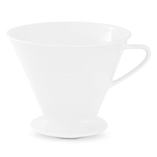 Friesland Kaffeefilter Gr. 6 Weiß Porzellan