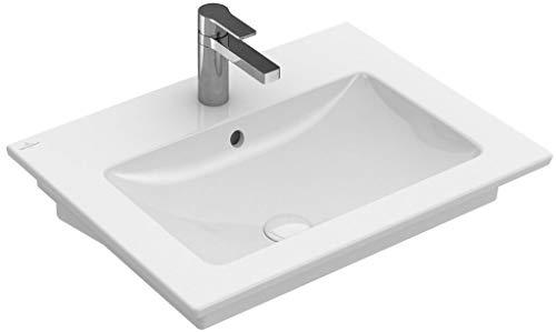 Villeroy & Boch V&B Waschtisch VENTICELLO ohne ÜL, 600x500mm we C+