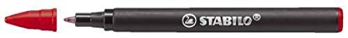 STABILO Refill Move Easy 6890/0403Stück (S) Ersatzmine für Kugelschreiber–Ersatzminen für Stifte (rot, 3Stück (S))
