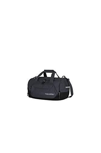 travelite Reisetasche Größe S Handgepäck, Gepäck Serie KICK OFF: Praktische kleine Reisetasche für Urlaub und Sport, 006913-04, 40 cm, 23 Liter, d'anthrazit (grau)