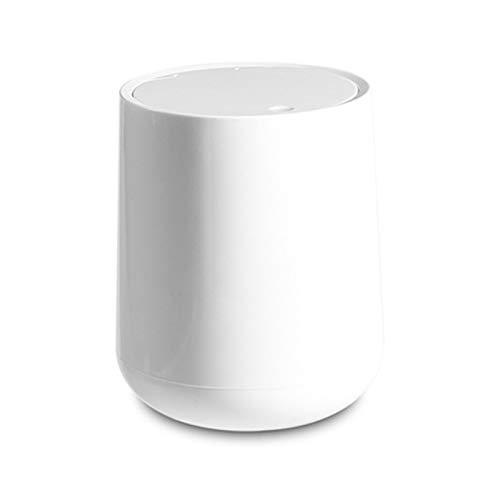 Cubo de basura plegable para cocina Bote de basura Mini caja de almacenamiento Baño Mesa de basura de escritorio Cubo de basura Gabinete de limpieza Antideslizante Durable