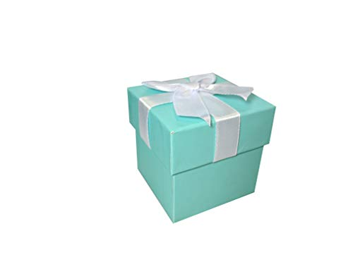 Tiffany Blue Favor Boxes (12 ct)