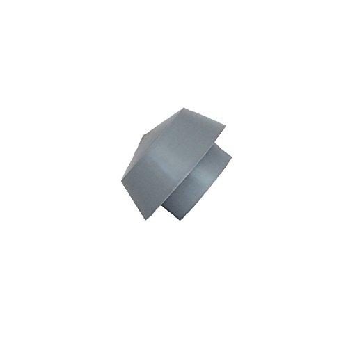 Weerdop/ontluchtingskap DN 70, afzuighoed, ventilatiepaddenstoel, garage, dakventilator, reservekap, PVC, DN 75