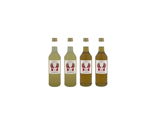 de Limonade Meisjes Mix van Siropen – Citroen – Gember – 4x Fles 500ml – Vruchtensap
