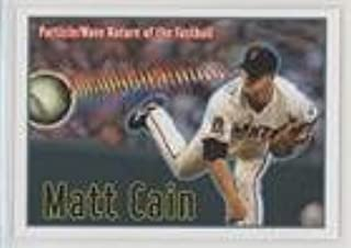 Matt Cain (Baseball Card) 2010 ExplOratorium The Science of Baseball - [Base] #4