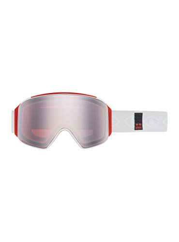 Product Image 2: Anon Men's M4 Cylindrical Goggle with Spare Lens, Eyes Frame Sonar Silver Lens; Spare Lens: Sonar Infrared