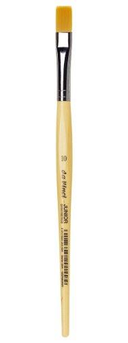daVinci GH30410 Junior Synthetics Malerpinsel, flach Serie 304, Größe 10