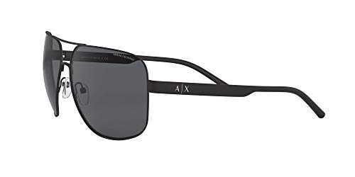 Armani sunglasses for men and women AX Armani Exchange Men's Ax2030s Metal Square Sunglasses