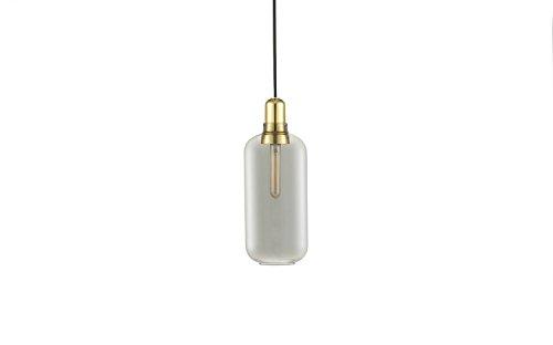 Normann Copenhagen - Amp Brass Hängeleuchte groß - Rauch/Messing - Simon Legald - Design - Pendelleuchte - Wohnzimmerleuchte
