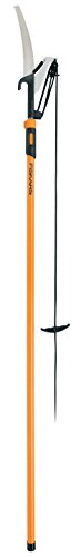 Fiskars, 393951-1001 Extendable Pole Saw & Pruner, 1 Inch Cut Capacity,...