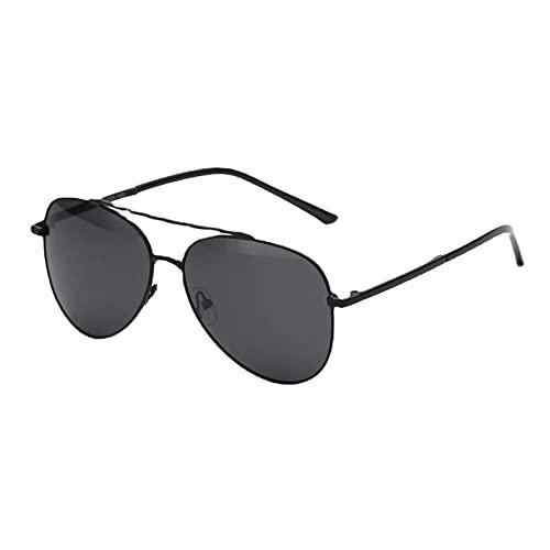 XINMAN Gafas De Sol Polarizadas Negras De Moda Gafas De Sol Cuadradas De Moda con Montura Grande Espejo De Conducción Que Conduce