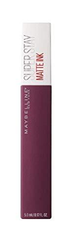 Maybelline New York SuperStay Matte Ink, Pintalabios Mate de Larga Duración, Tono 40 - Believer, Púrpura