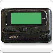 Apollo Gold AL25 Alphanumeric Pager Hand Programmable by Apollo