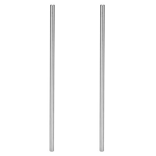 2 piezas de eje redondo de alta precisión 4100‑0006‑200 acero inoxidable Φ6 mm compatible con robots L-EGO/TETRIX