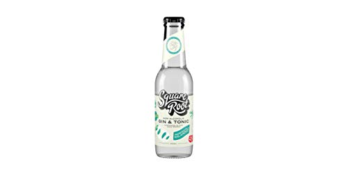 Squareroot Soda Non-Alcoholic G and T, 0.33 kg