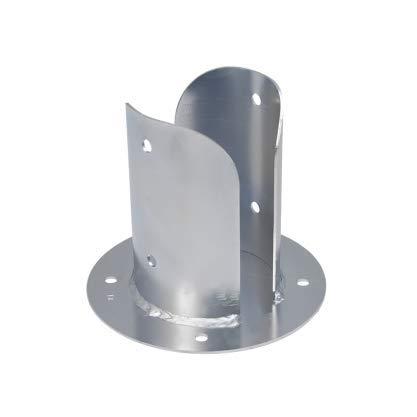 PSPOD Aufschraubhülse Pfostenschuh Hülse für Pfosten Pfostenträger (PSP0D80 81x150mm)
