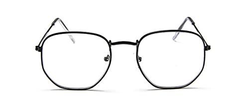 Gafas de Sol Gafas De Sol De Metal Vintage para Hombre, Gafas De Sol para Mujer, Gafas De Conducción Clásicas Uv400 C7