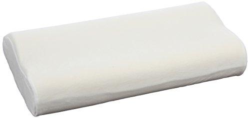 Sissel Soft Curve Compact inklusive Bezug Nackenstützkissen, Ecru, 48 x 32 x 10 cm