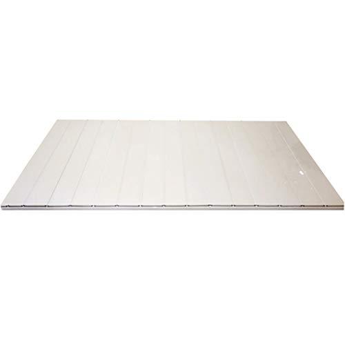 LwBathtub tray Badewannenabdeckung Anti-Staub-Falten-Staubplatte Badewannenisolationsabdeckung PVC (Size : 170 * 75 * 0.6cm)