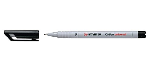 Stabilo 852/46 Folienschreiber OHPen Universal Fein, wasserlöslich, schwarz