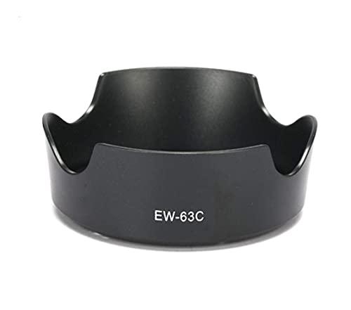Pixtic EW-63C - Parasol para Objetivo Canon EOS 700D 100D EF-S 18-55 mm f/3.5-5.6 IS STM