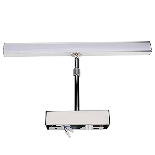 Luz de Espejo de vanidad, luz Delantera de Espejo Lámpara de Pared de Espejo Luz Suave 15.9in Antiniebla para baño
