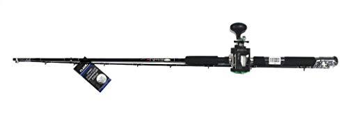 Fladen Downrigger Combo composto da canna da pesca Xtra Flexx 210 cm e mulinello Warbird 2020, con filo monofilo, combo Trolling