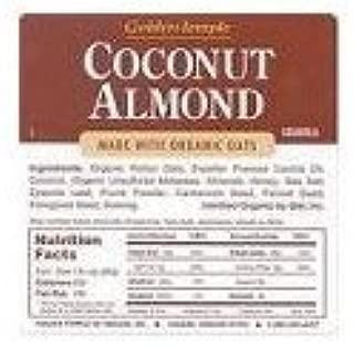 1 CASE, Golden Temple, Granola, Coconut Almond, 25 lbs