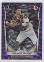 Grayson Greiner #24/99 (Baseball Card) 2014 Bowman Draft Picks & Prospects - [Base] - Purple Ice #DP99