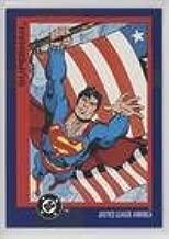 Superman (Trading Card) 1993 SkyBox DC Cosmic Teams - [Base] #37