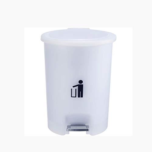 XZJJZ Encimera Bote de Basura |Mini Bote de Basura con Tapa |Pequeña Papelera |Mueble de Cocina, Mesa, baño, Oficina, Escritorio Bote de Basura |Cuarto de baño de plástico