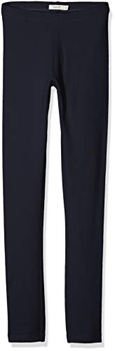 NAME IT Mädchen NKFDAVINA Sweat NOOS Leggings, Blau (Dark Sapphire), 164