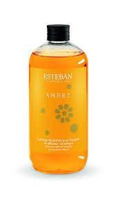 Room Fragrance Refill Bottle Esteban Paris Ambre Amber and Vanilla 500?ml by Esteban Paris