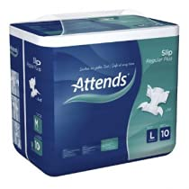ATTENDS® Slip Regular Plus 10 Large Windeln, 56 Stück