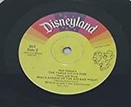 Disney, Story of The Three Little Pigs/Who's Afraid of the Big Bad Wolf?; Disneyland 303