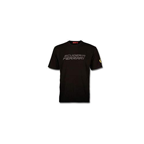 Ferrari T-shirt pour homme École Noir ou Rouge