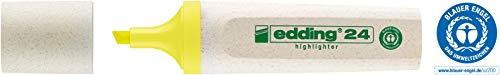 edding Textmarker Highlighter 24 EcoLine, nachfüllbar, gelb