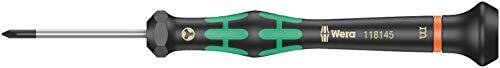 Wera 05118145001 2072 Kraftform Micro Schraubendreher für Microstix-Schrauben, m x 40 mm