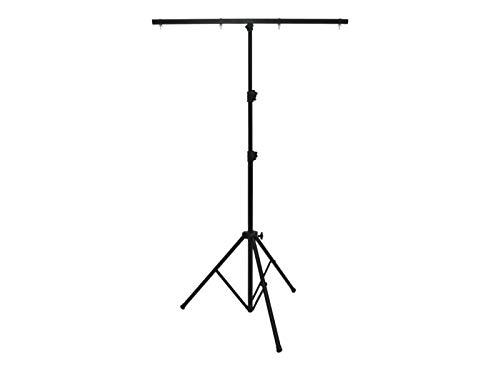 EUROLITE A2 Stahlstativ | Lichtstativ mit Querträger, Maximallast 14 kg, Maximalhöhe 260 cm