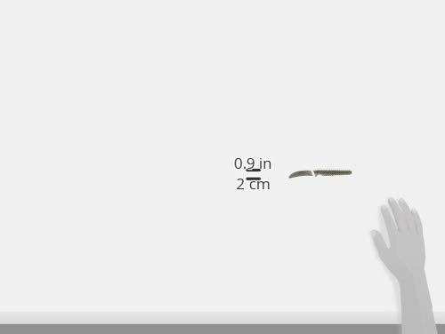 Global GSF-17-2 1/2 inch, 6cm Bird's Beak Curved Peeling Knife