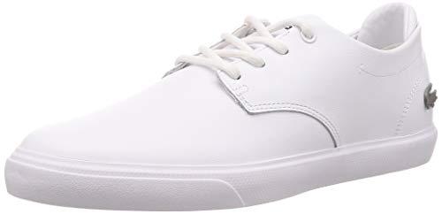 Lacoste Herren ESPARRE BL 1 CMA Sneaker, Weiß (White/White), 44 EU