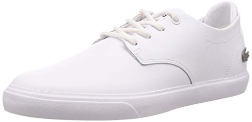Lacoste Mens ESPARRE BL 1 CMA Sneaker, Weiß (White/White), 41 EU