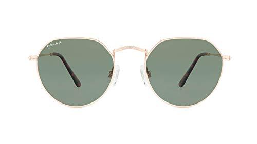 Polar OID Gafas de sol polarizadas para hombre y mujer, vintage, unisex, estilo retro, color 02/g