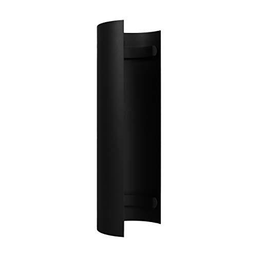 LANZZAS Rauchrohr Ofenrohr Kaminrohr Hitzeschutzschild für gerades Rohr Ø 150 mm schwarz