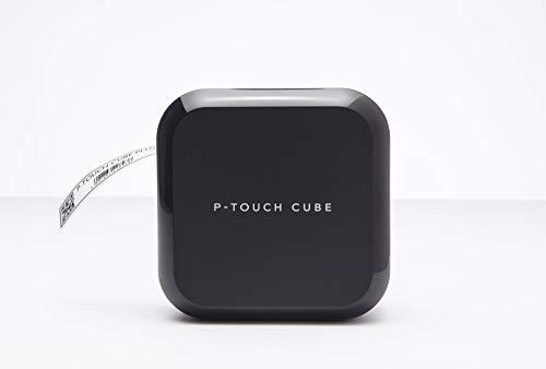 Brother P-Touch Cube PlusPT-P710BT Etichettatrice Compatibile con PC/Mac (tramite USB), Smartphone/Tablet (tramite Bluetooth), Compatibilità MFI (Made for iOS), Taglierina Automatica, fino a 24 mm