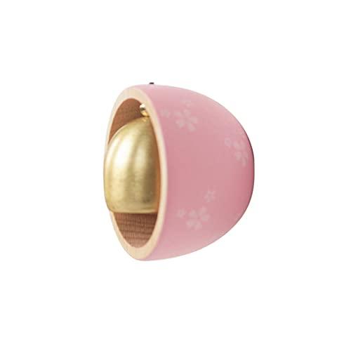 AUTUUCKEE Imán de madera para nevera de estilo japonés para mensajes de decoración (rosa)